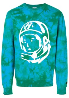 Billionaire Boys Club bleached logo sweatshirt - Blue
