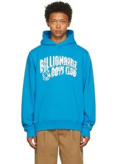 Billionaire Boys Club Blue Arch Logo Hoodie