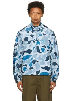 Billionaire Boys Club Blue Camo Lightweight Jacket