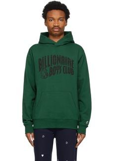 Billionaire Boys Club Green Arch Logo Hoodie