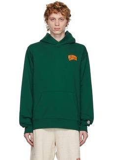 Billionaire Boys Club Green Small Arch Logo Hoodie