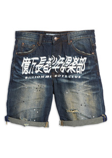 Billionaire Boys Club Men's BB Orbit Denim Shorts (Rover)