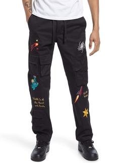 Billionaire Boys Club Men's Stellar Embroidered Cargo Pants