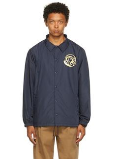 Billionaire Boys Club Navy Astro Coach Jacket