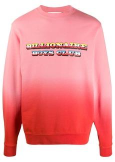 Billionaire Boys Club dip-dye crew neck sweatshirt