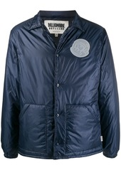 Billionaire Boys Club logo patch padded jacket