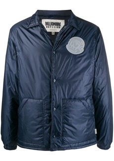 Billionaire Boys Club logo patch padded jacket