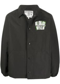 Billionaire Boys Club logo print lightweight jacket