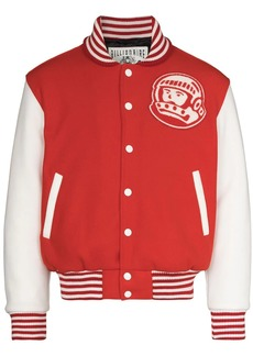 Billionaire Boys Club logo-print varsity bomber jacket