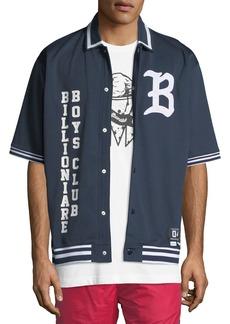 Billionaire Boys Club Men's Marquee Short-Sleeve Knit Shirt