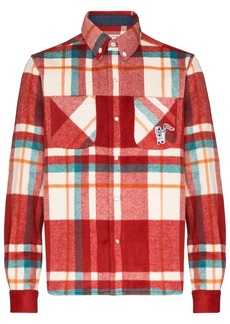 Billionaire Boys Club plaid pattern shirt