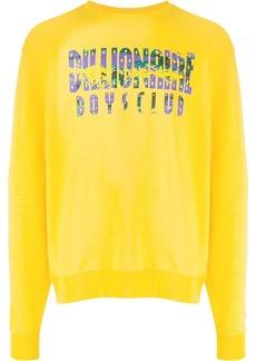 Billionaire Boys Club printed logo sweatshirt