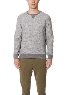 Billy Reid Boucle Crew Sweater