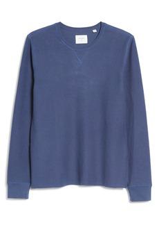 Billy Reid Cotton & Linen Sweatshirt