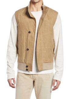 Billy Reid Deck Waxed Cotton Vest