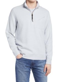 Billy Reid Double Knit Half-Zip Pullover