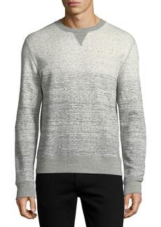 Billy Reid Gradient Cotton Sweatshirt