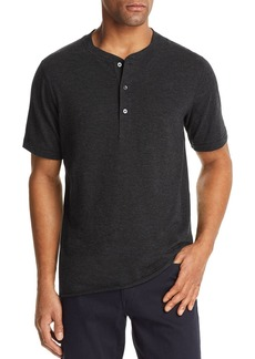 Billy Reid Hunter Short Sleeve Henley