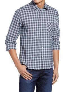 Billy Reid John T Plaid Button-Up Shirt