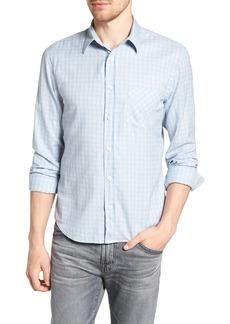 Billy Reid Kirby Slim Fit Check Sport Shirt