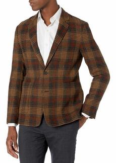 Billy Reid Men's Archie Jacket Dark Brown/Camel R