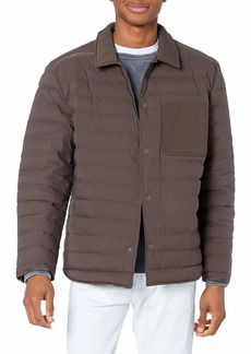 Billy Reid Men's Baffle Shirt Jacket