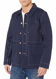 Billy Reid Men's Copper Tack Button Unlined Game Jacket  S