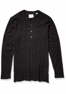 Billy Reid Men's Cotton Cashmere Long Sleeve Louis Henley