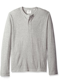 Billy Reid Men's Double Faced Long Sleeve Cullman Henley