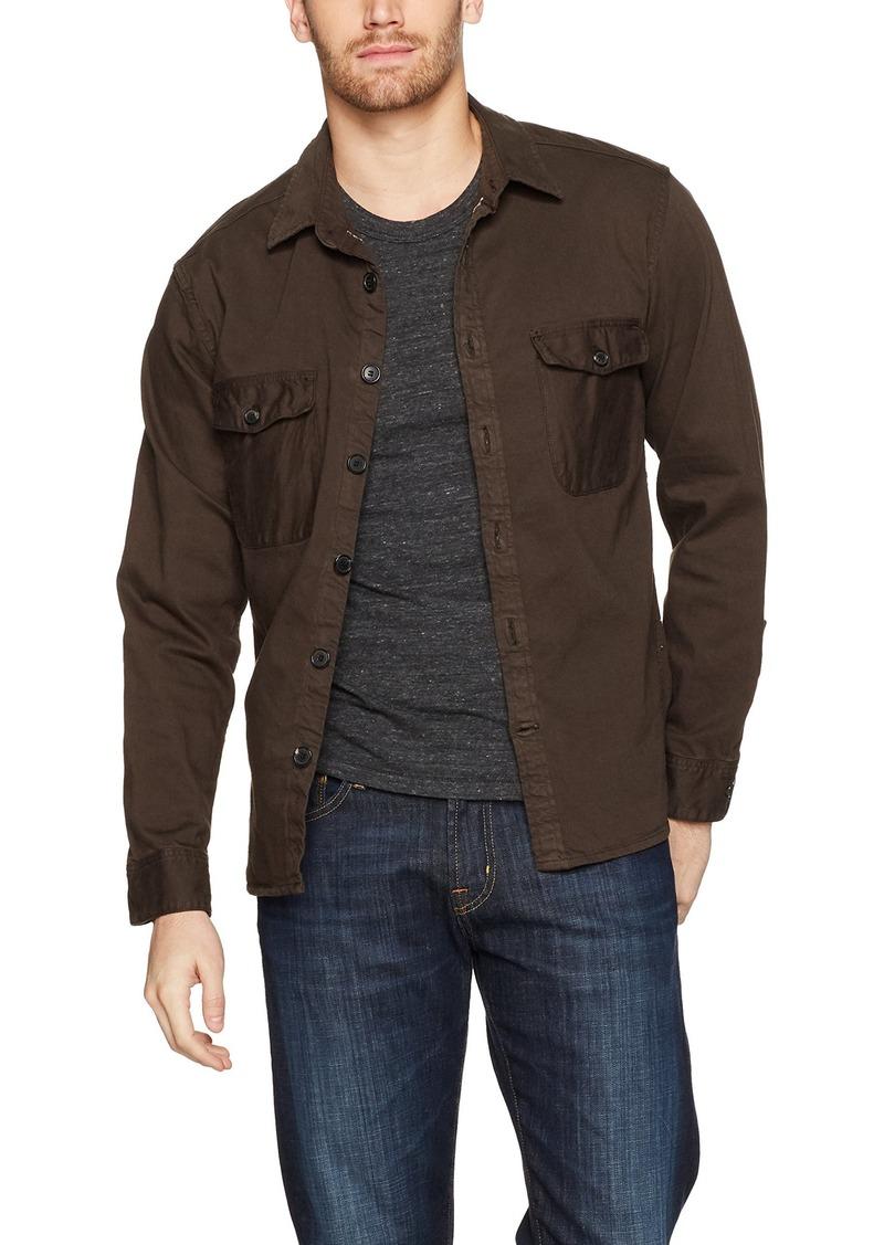 Billy Reid Men's Garment Dyed Selvedge Shirt Jacket  M