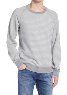 Billy Reid Men's Jacquard Terry Cotton Crewneck Sweatshirt