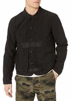 Billy Reid Men's Lightweight Water Repellant Modular Shirt Jacket