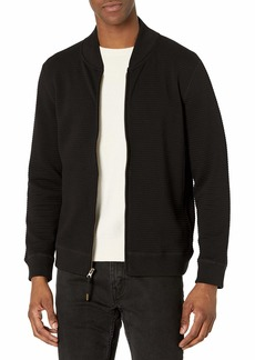 Billy Reid Men's Quilted Knit Bomber Jacket