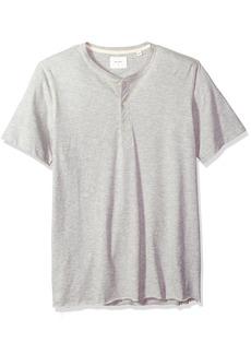 Billy Reid Men's Short Sleeve Hunter Henley  XL