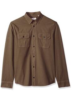 Billy Reid Men's Standard Fit Button Down Brantley Shirt  XL