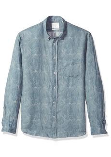 Billy Reid Men's Standard Fit Button Down Tuscumbia Shirt  M