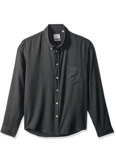 Billy Reid Men's Standard Fit Cotton Cashmere Button Down Liam Shirt  S
