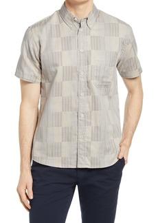 Billy Reid Men's Tuscumbia Standard Fit Plaid Short Sleeve Button-Down Shirt
