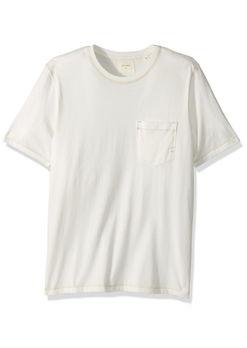 Billy Reid Men's Washed Pocket T-Shirt  XXL