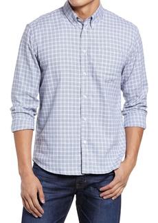 Billy Reid Offset Pocket Check Button-Down Shirt