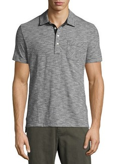 Billy Reid Ombre Striped Polo Shirt