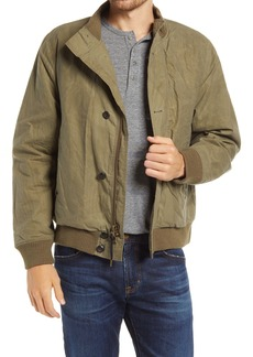 Billy Reid Organic Cotton Flight Bomber Jacket