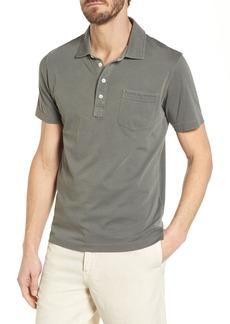 Billy Reid Pensacola Slim Fit Garment Dye Polo