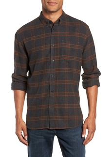 Billy Reid Plaid Cotton Flannel Shirt