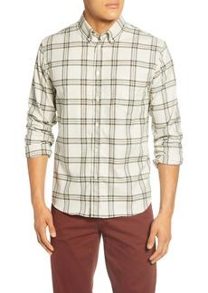 Billy Reid Regular Fit Plaid Button-Down Sport Shirt