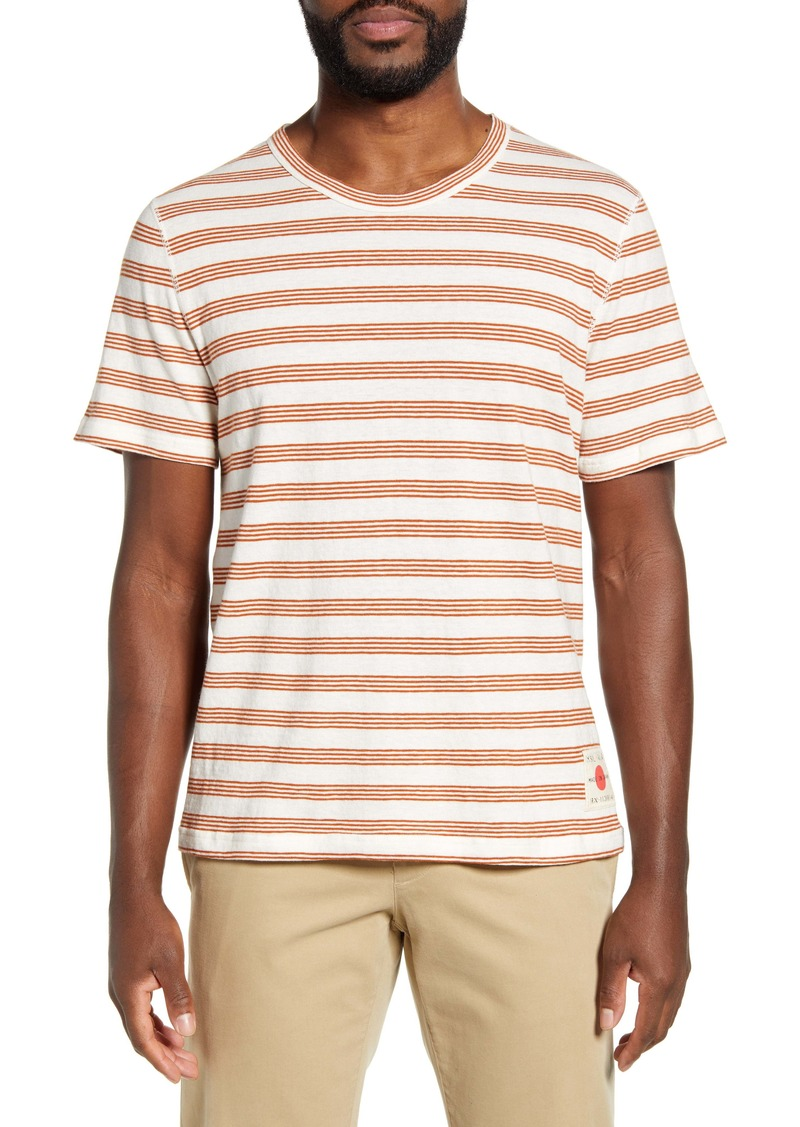 Billy Reid Stripe T-Shirt