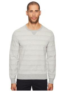 Billy Reid Striped Crew Neck Sweatshirt