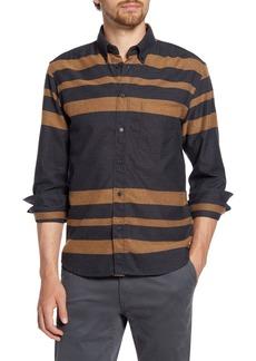 Billy Reid Taped Tuscumbia Standard Fit Stripe Button-Down Shirt