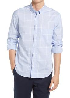 Billy Reid Tuscumbia Check Cotton Button-Down Shirt