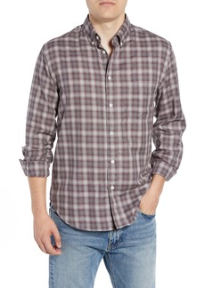 Billy Reid Tuscumbia Regular Fit Plaid Sport Shirt